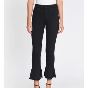 NWT Mother Denim The Cha Cha Fray Jean